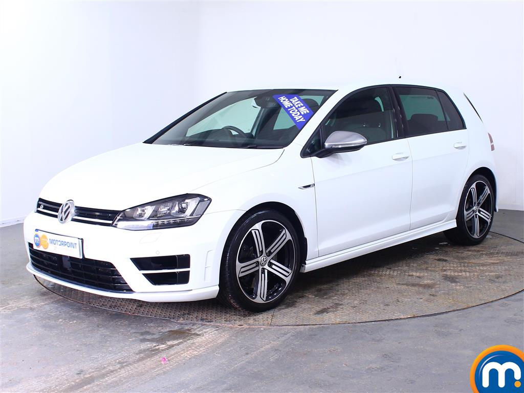Volkswagen Golf R - Stock Number (1002887) - Passenger side front corner