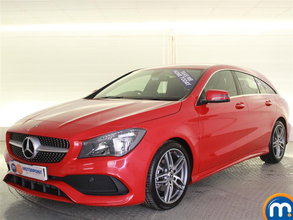 Mercedes-Benz Cla Class AMG Line - Stock Number (1001288) - Passenger side front corner