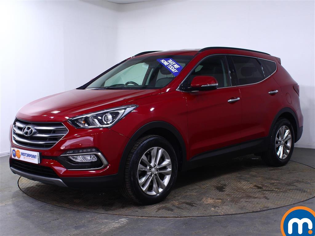 Hyundai Santa Fe Premium - Stock Number (1005367) - Passenger side front corner