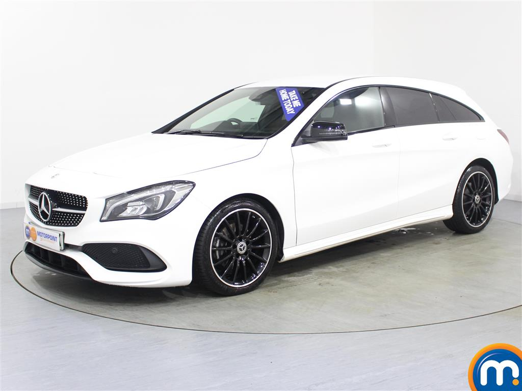 Mercedes-Benz Cla Class AMG Line Night Edtion - Stock Number (1000418) - Passenger side front corner