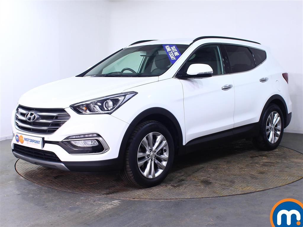 Hyundai Santa Fe Premium - Stock Number (998563) - Passenger side front corner