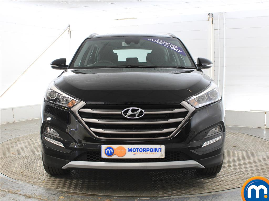Hyundai Tucson SE Manual Petrol Crossover - Stock Number (1004175) - Front bumper