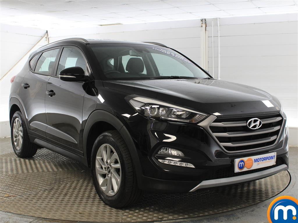 Hyundai Tucson SE Manual Petrol Crossover - Stock Number (1004175) - Drivers side front corner