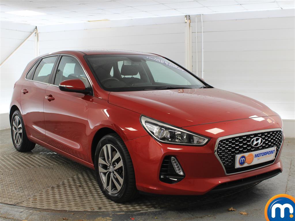 Hyundai I30 Se Nav Manual Petrol Hatchback - Stock Number (1005950) - Drivers side front corner