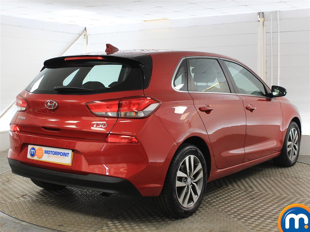 Hyundai I30 Se Nav Manual Petrol Hatchback - Stock Number (1005950) - Drivers side rear corner