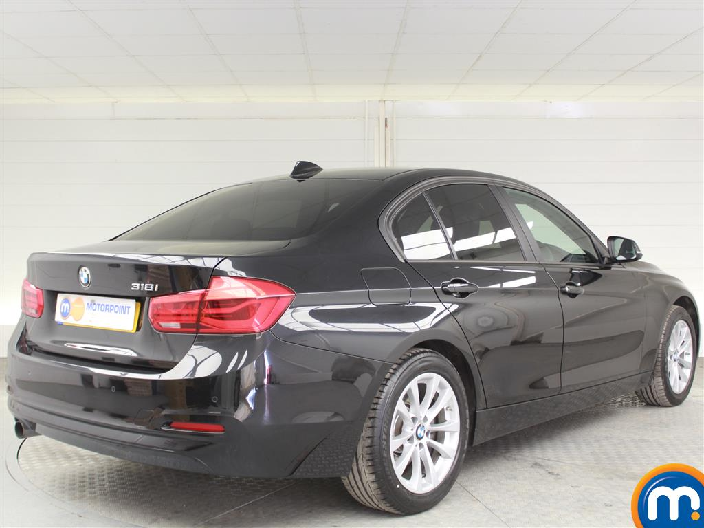 BMW 3 Series SE Automatic Petrol Saloon - Stock Number (1002828) - Drivers side rear corner