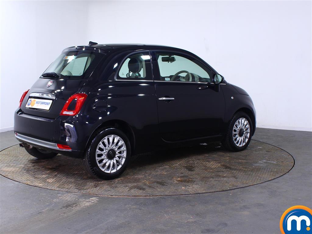 Fiat 500 Lounge Manual Petrol Hatchback - Stock Number (1007227) - Drivers side rear corner