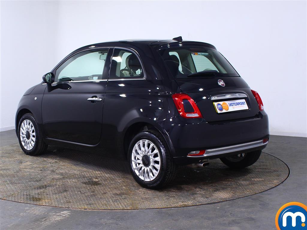 Fiat 500 Lounge Manual Petrol Hatchback - Stock Number (1007227) - Passenger side rear corner