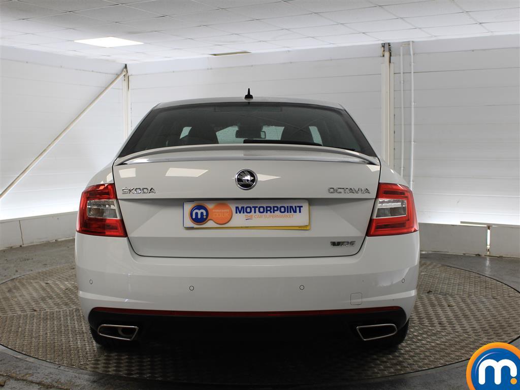 Skoda Octavia VRS Automatic Diesel Hatchback - Stock Number (1006028) - Rear bumper