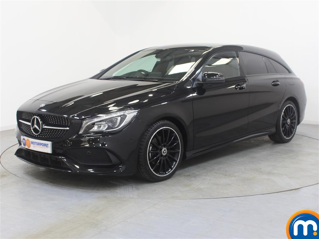 Mercedes-Benz Cla Class AMG Line Night Edtion Plus - Stock Number (1009441) - Passenger side front corner