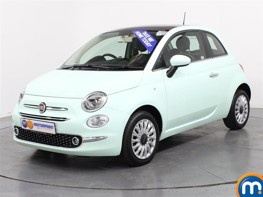 Fiat 500 Lounge - Stock Number 1003393 Passenger side front corner