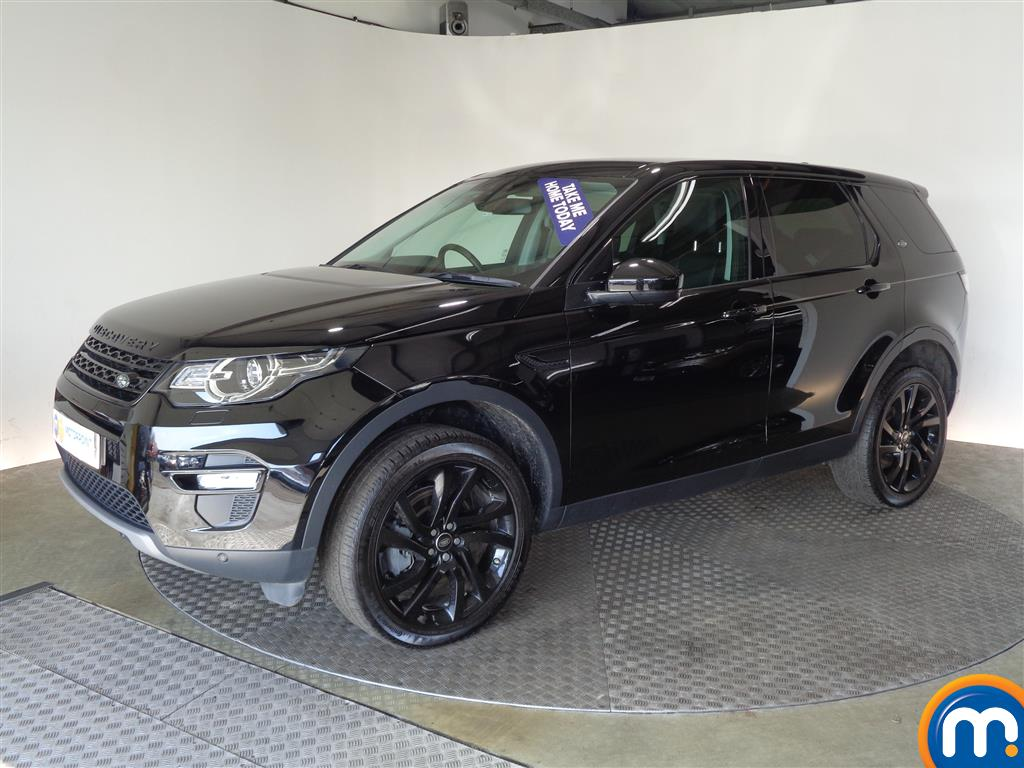 Land Rover Discovery Sport HSE Black - Stock Number (1005766) - Passenger side front corner
