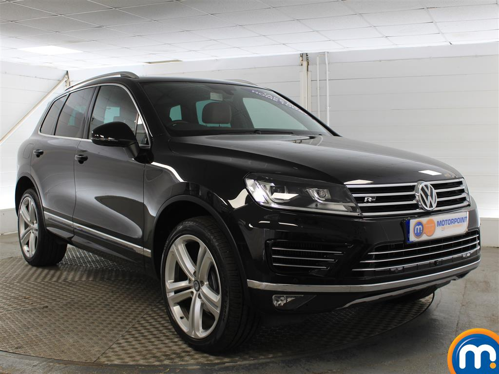 Volkswagen Touareg R Line Plus Automatic Diesel 4X4 - Stock Number (1005252) - Drivers side front corner