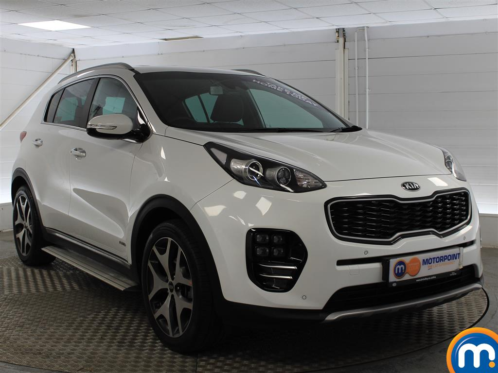 KIA Sportage Gt-Line Automatic Petrol 4X4 - Stock Number (1005561) - Drivers side front corner