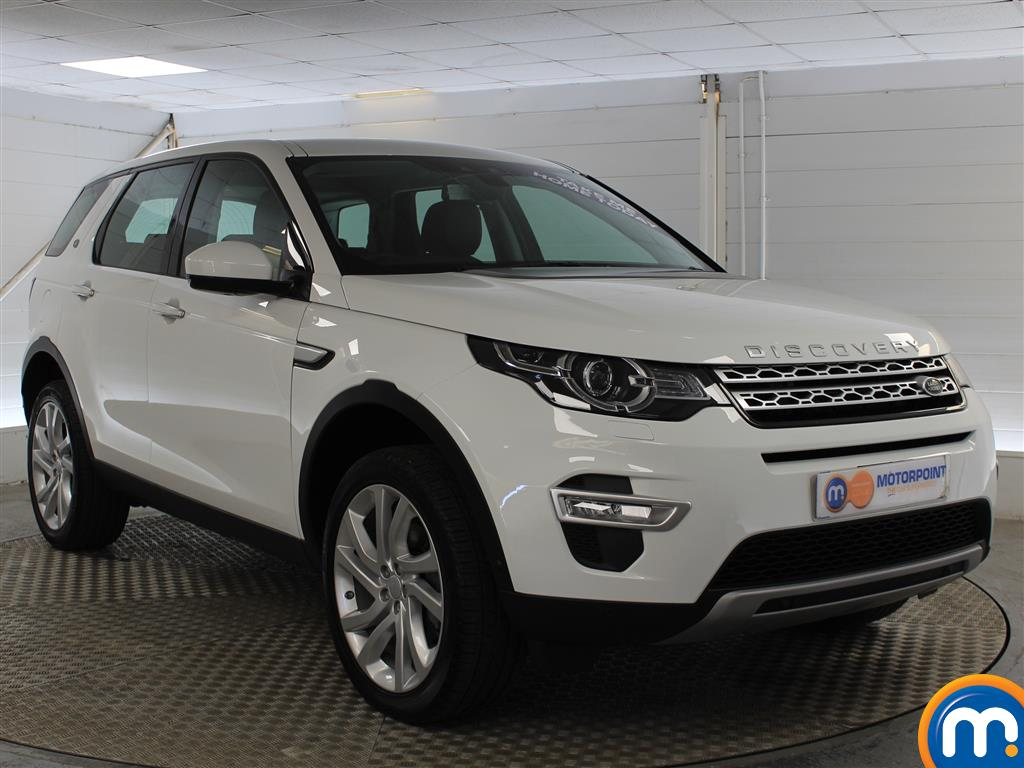 Land Rover Discovery Sport Hse Luxury Automatic Diesel 4X4 - Stock Number (1005756) - Drivers side front corner