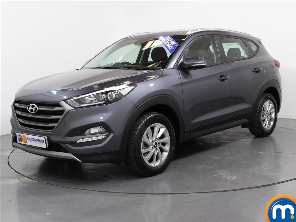 Hyundai Tucson SE - Stock Number (1004173) - Passenger side front corner