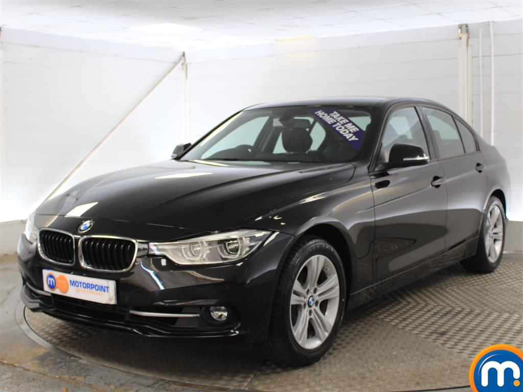 BMW 3 Series Sport Manual Petrol Saloon - Stock Number (1010442) - Passenger side front corner