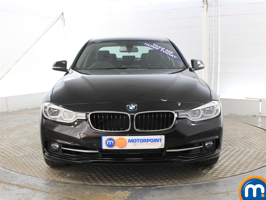 BMW 3 Series Sport Manual Petrol Saloon - Stock Number (1010442) - Front bumper