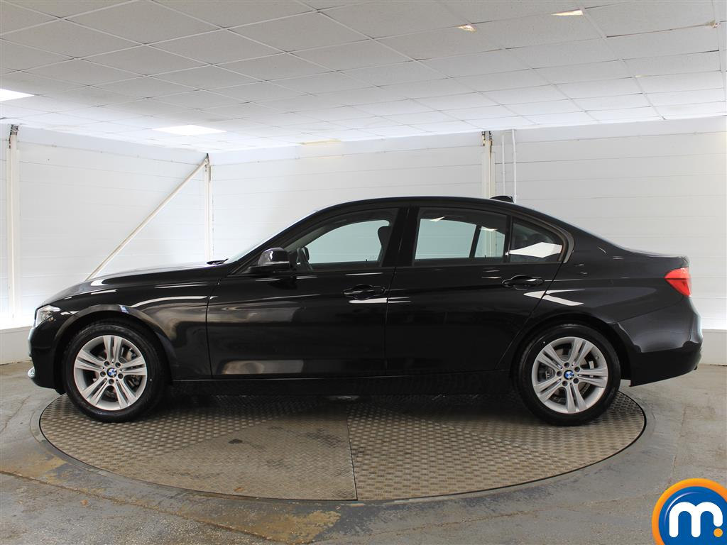 BMW 3 Series Sport Manual Petrol Saloon - Stock Number (1010442) - Passenger side