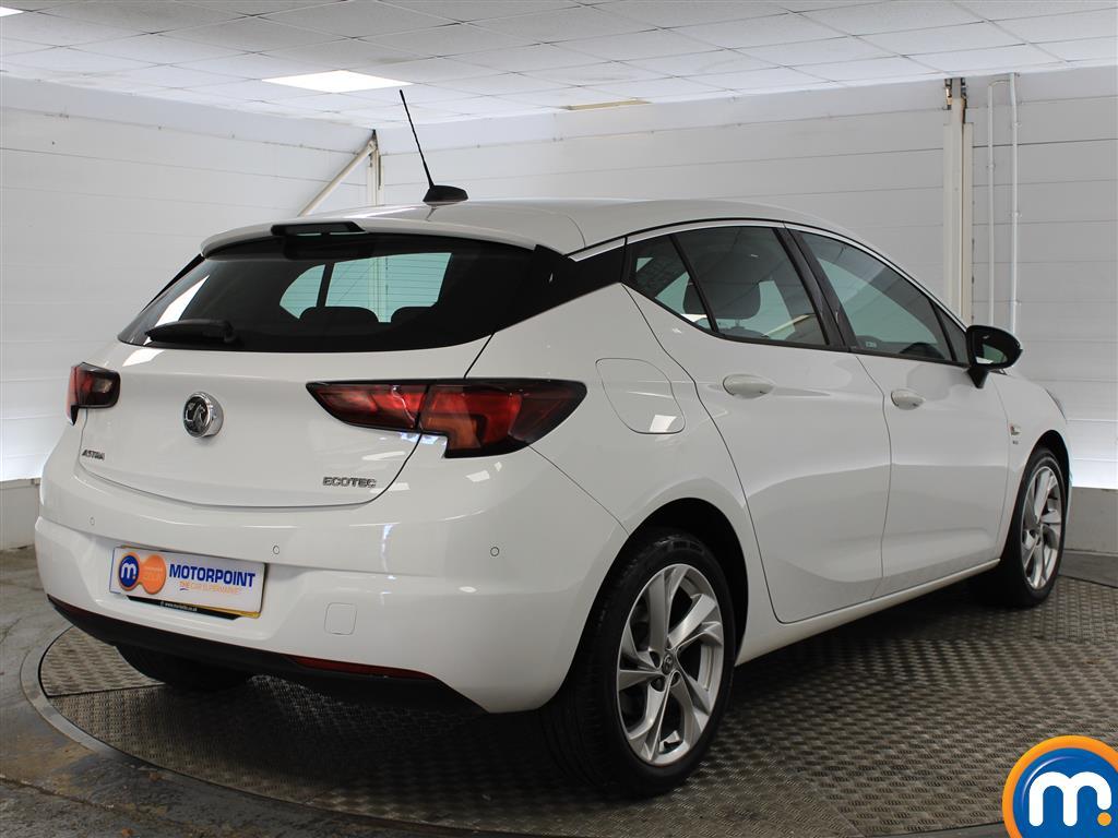Vauxhall Astra SRI Manual Petrol Hatchback - Stock Number (1010716) - Drivers side rear corner