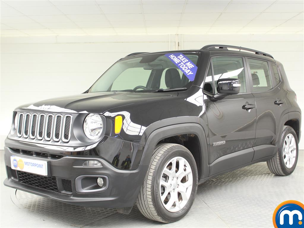 Jeep Renegade Longitude - Stock Number (1000253) - Passenger side front corner