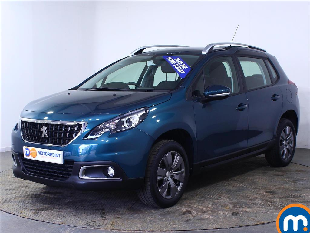 Peugeot 2008 Active - Stock Number (1000507) - Passenger side front corner