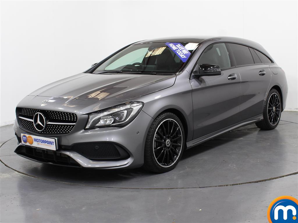 Mercedes-Benz Cla Class AMG Line Night Edtion Plus - Stock Number (1005041) - Passenger side front corner