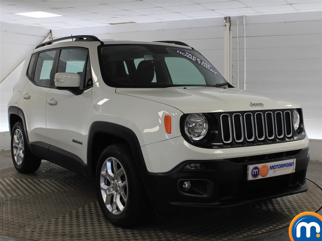 Jeep Renegade Longitude Manual Petrol Crossover - Stock Number (1009856) - Drivers side front corner