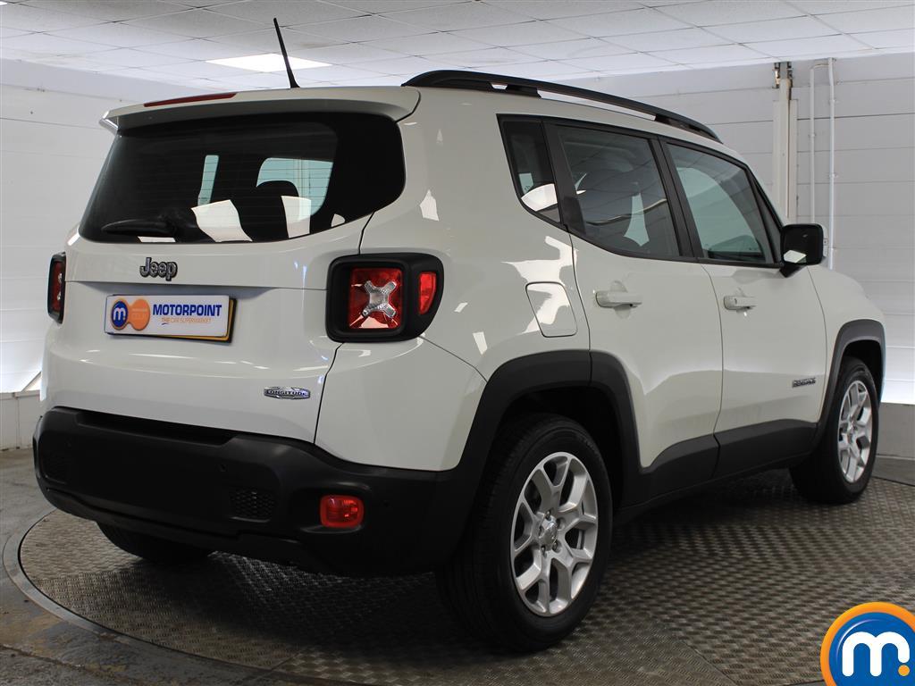 Jeep Renegade Longitude Manual Petrol Crossover - Stock Number (1009856) - Drivers side rear corner