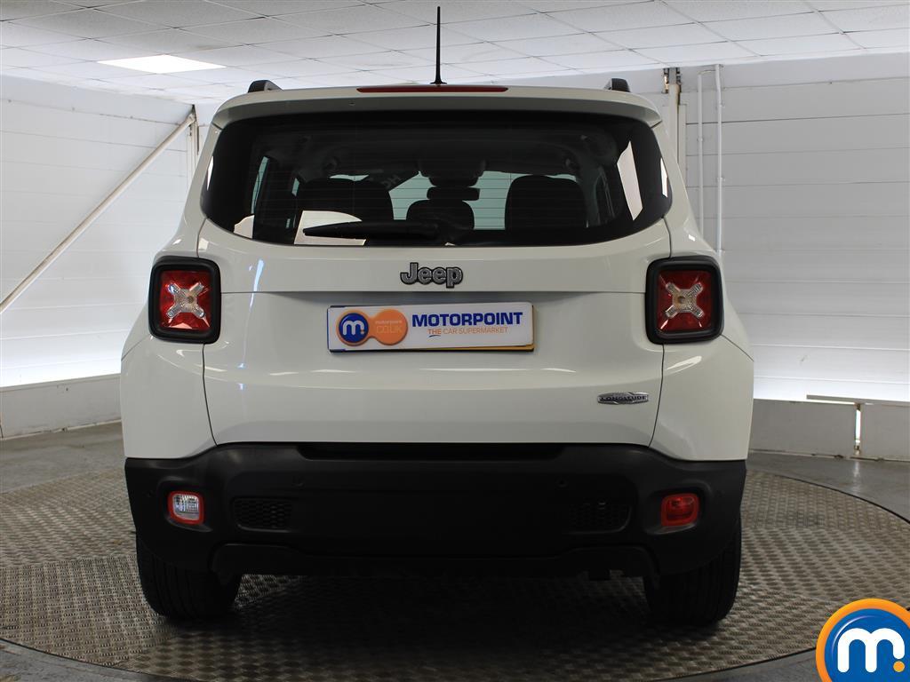 Jeep Renegade Longitude Manual Petrol Crossover - Stock Number (1009856) - Rear bumper