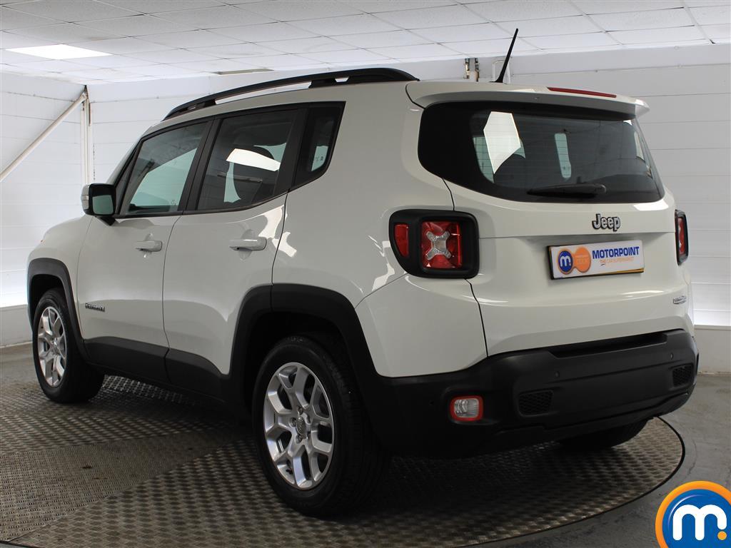 Jeep Renegade Longitude Manual Petrol Crossover - Stock Number (1009856) - Passenger side rear corner