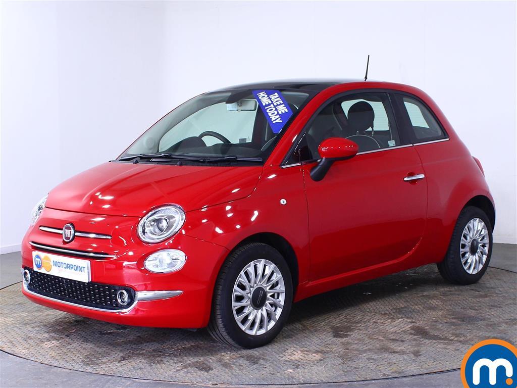 Fiat 500 Lounge - Stock Number 1003415 Passenger side front corner