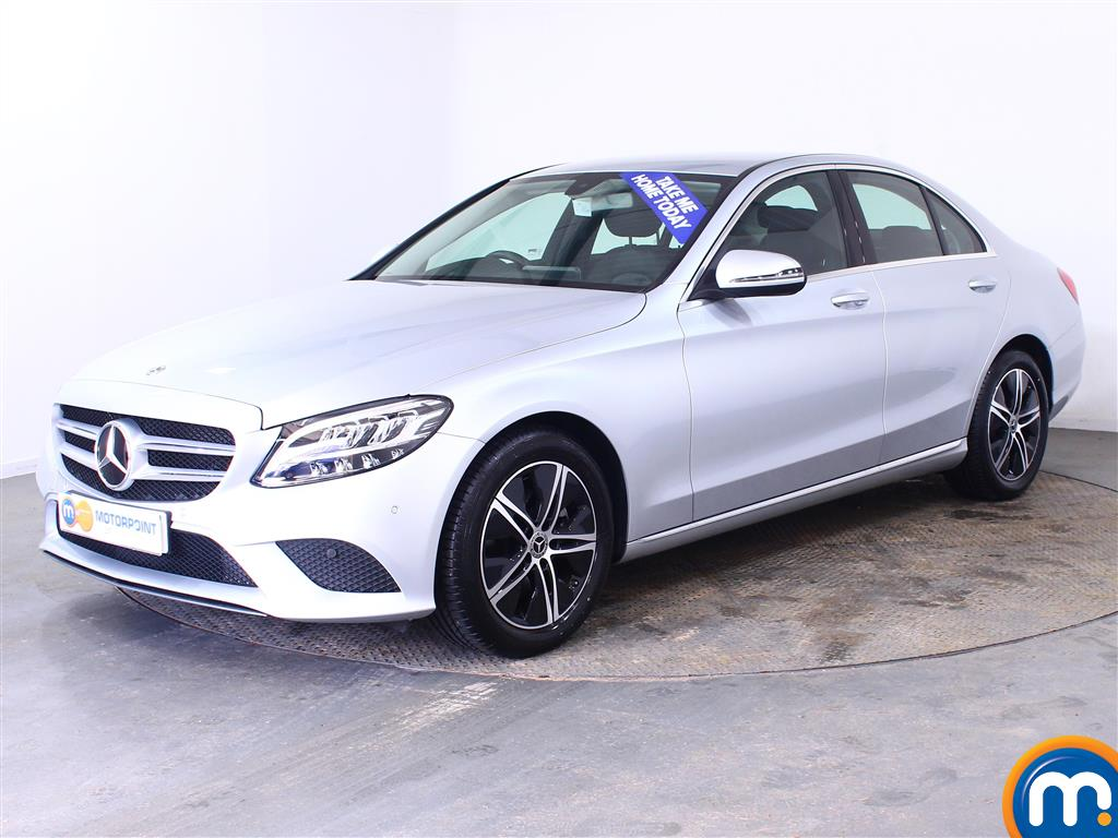 Mercedes-Benz C Class Sport - Stock Number (1008813) - Passenger side front corner