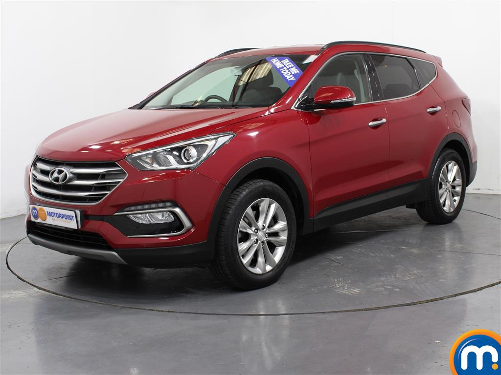 Hyundai Santa Fe Premium - Stock Number (1007014) - Passenger side front corner