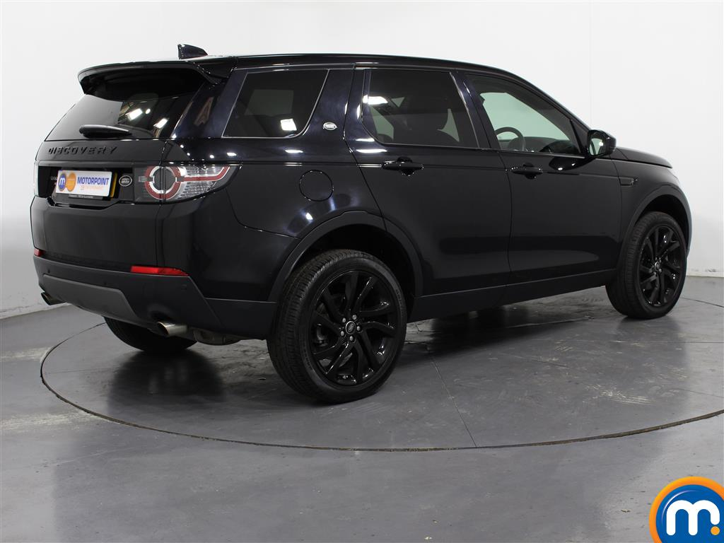 Land Rover Discovery Sport Hse Black Automatic Diesel 4X4 - Stock Number (1007359) - Drivers side rear corner