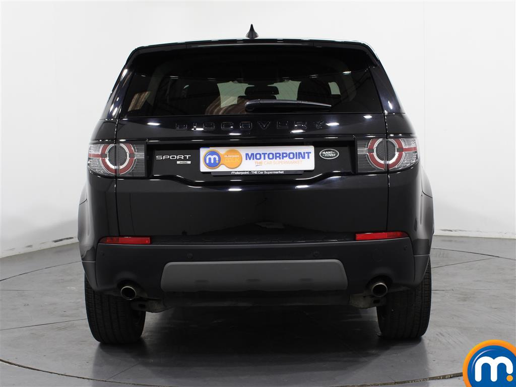 Land Rover Discovery Sport Hse Black Automatic Diesel 4X4 - Stock Number (1007359) - Rear bumper