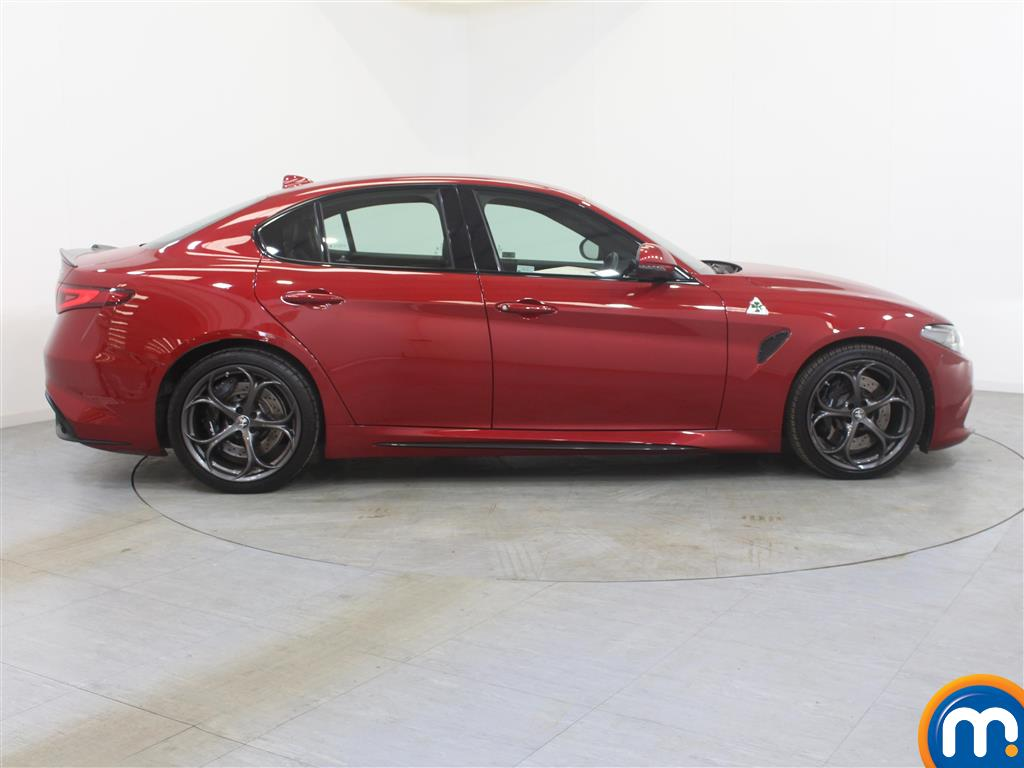 Alfa Romeo Giulia Quadrifoglio Automatic Petrol Saloon - Stock Number (994706) - Drivers side