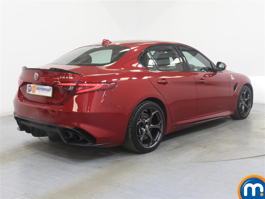 Alfa Romeo Giulia Quadrifoglio Automatic Petrol Saloon - Stock Number (994706) - Drivers side rear corner