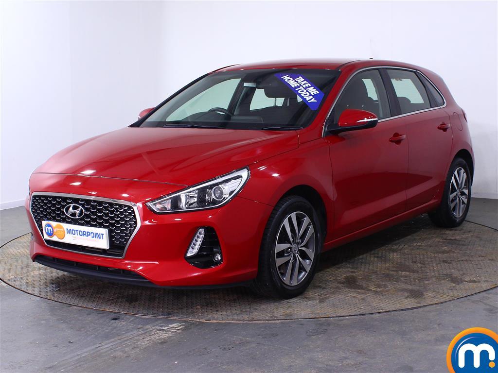 Hyundai I30 SE Nav - Stock Number (1004071) - Passenger side front corner