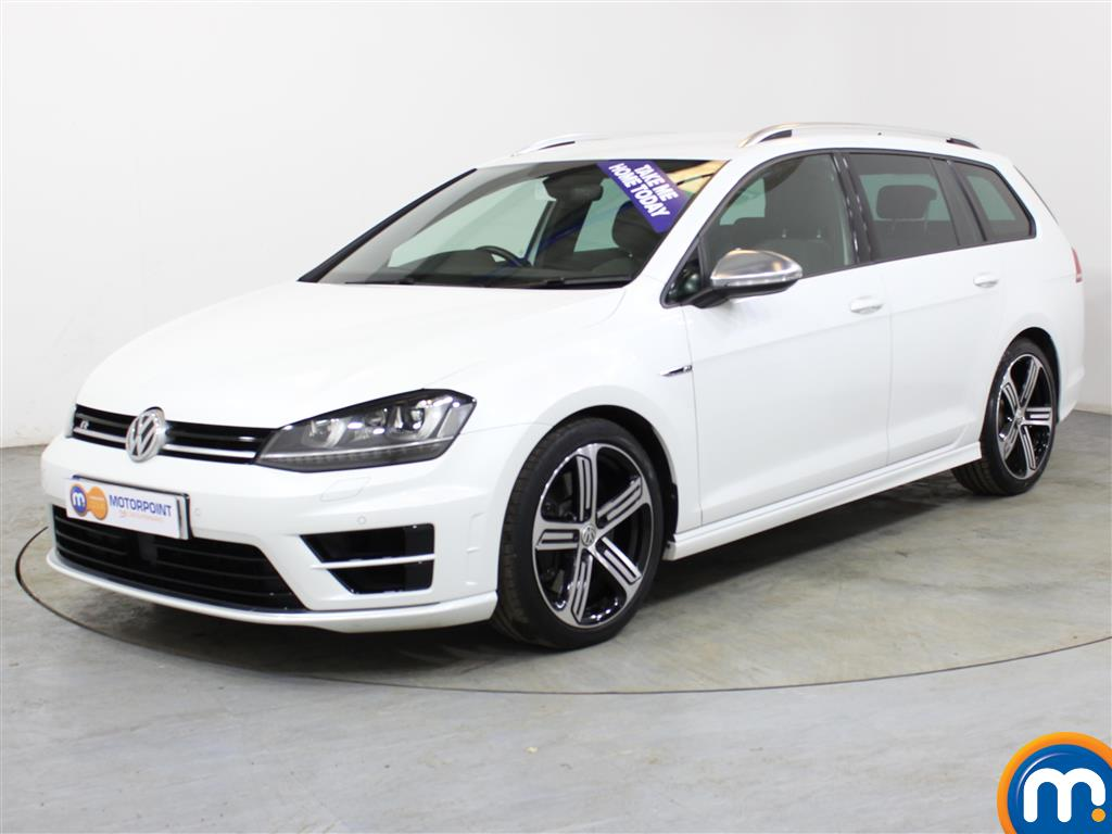 Volkswagen Golf R - Stock Number (1002376) - Passenger side front corner