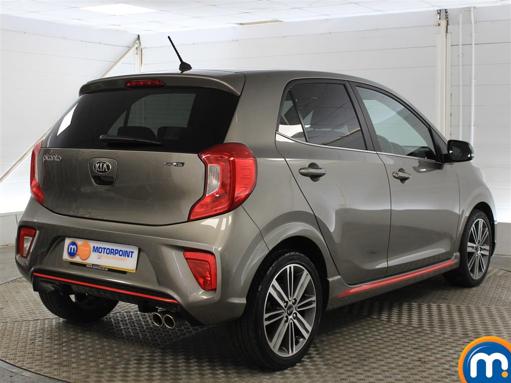 KIA Picanto Gt-Line Manual Petrol Hatchback - Stock Number (1000755) - Drivers side rear corner