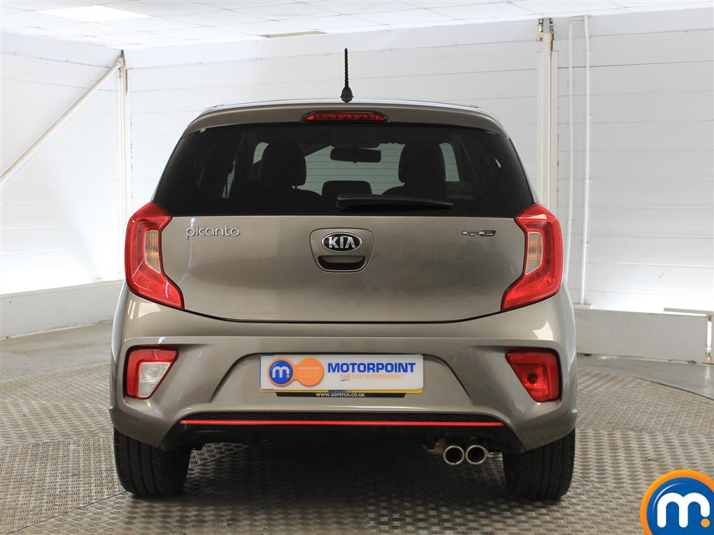 KIA Picanto Gt-Line Manual Petrol Hatchback - Stock Number (1000755) - Rear bumper