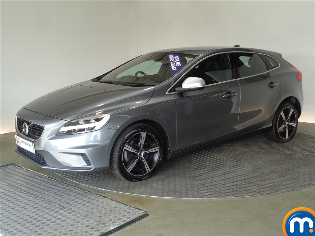 Volvo V40 R Design - Stock Number (1003315) - Passenger side front corner