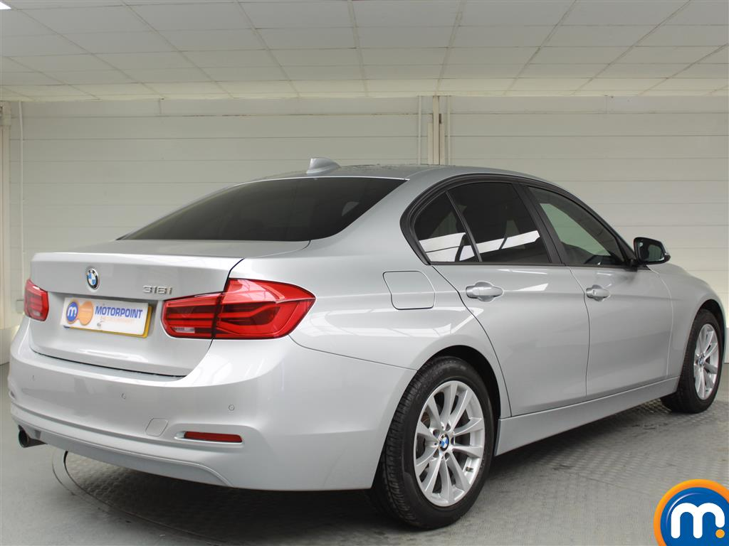 BMW 3 Series SE Automatic Petrol Saloon - Stock Number (1002850) - Drivers side rear corner