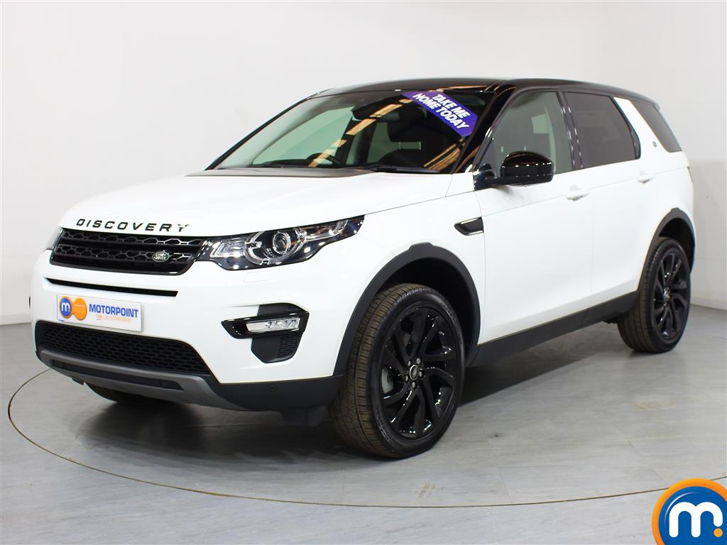 Land Rover Discovery Sport HSE Black - Stock Number (1007475) - Passenger side front corner