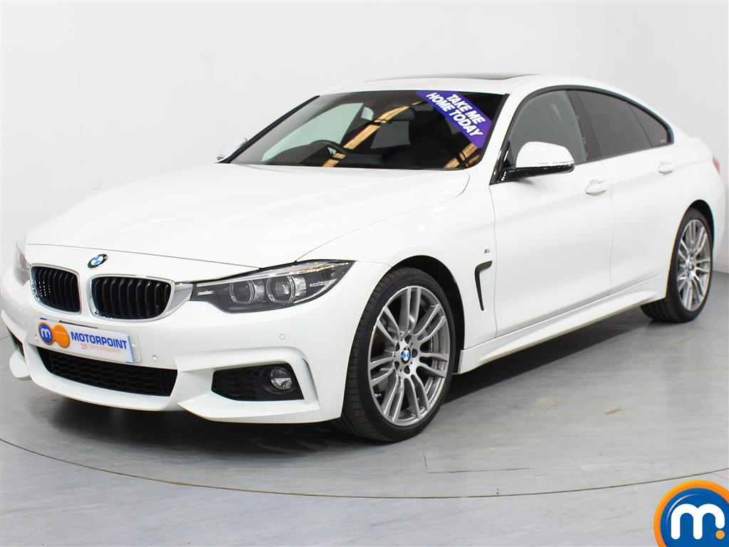 BMW 4 Series M Sport - Stock Number (1008021) - Passenger side front corner
