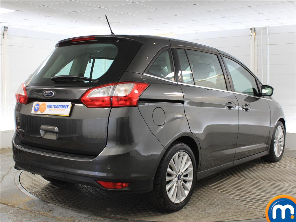 Ford Grand C-Max Titanium Manual Diesel People Carrier - Stock Number (1011875) - Drivers side rear corner