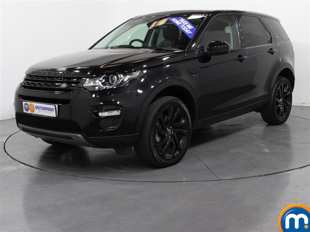 Land Rover Discovery Sport HSE Black - Stock Number (1009925) - Passenger side front corner