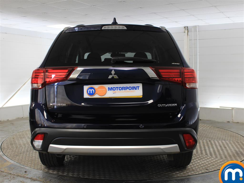 Mitsubishi Outlander 3 Automatic Diesel 4X4 - Stock Number (1005697) - Rear bumper