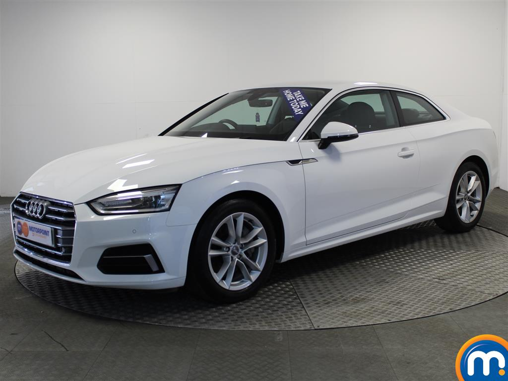 Audi A5 Sport - Stock Number (1010989) - Passenger side front corner